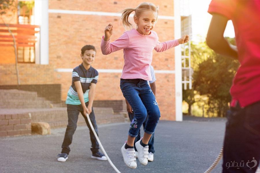 فعالیت جهت رفع اضافه وزن در کودکان