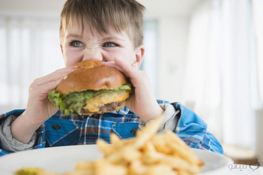 غذای سالم و سلامت برای کودکان